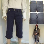 Capt. Jack Sparrows Pirate Pants / Trousers